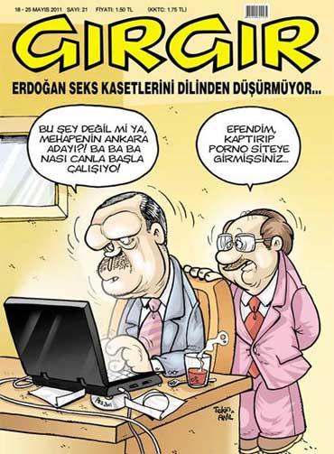 gırgır mhp video kaset tayyip erdoğan
