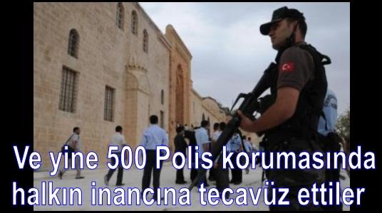kasımiye medresesi defile 500 polis