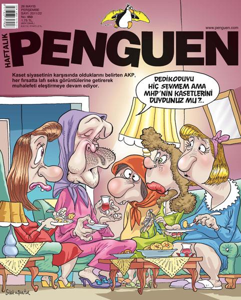 penguen mhp video kaset tayyip erdoğan